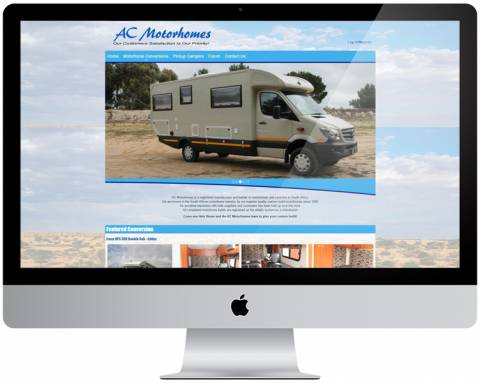 AC Motorhomes screenshot
